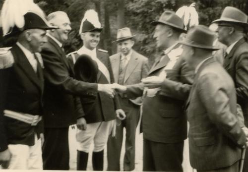 Theodor Klostermann + Johannes Holling + Herbert Börnemann + Josef Wemmer + Josef Wauligmann + Anton Volbert + Josef Richter