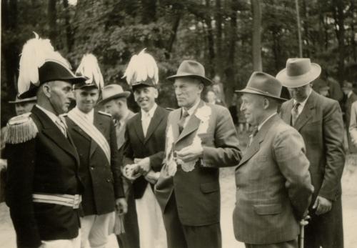 Theodor Klostermann - Johannes Holling - Herbert Börnemann - Josef Wemmer - Josef Wauligmann - Anton Volbert - Josef Richter