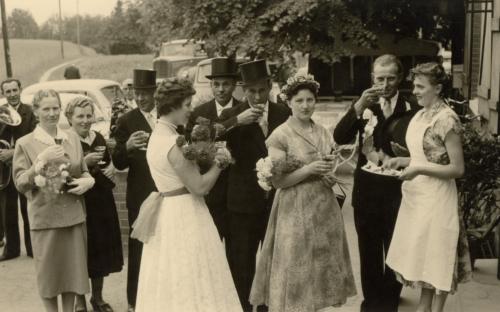 Maria Klostermann - Maria Wortkötter - Heinrich Wortkötter - Anneliese Holtmann - Bernhard Klostermann - Heinrich Albacht - Elisabeth Lammers - Anton Lamme