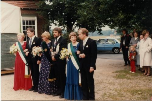 Marlies + Rudi Wardemann - Gabi + Bernhard Howe - Hildegard + Tonno Boing 1981 (2)