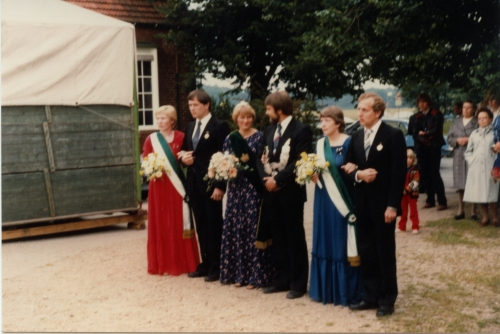 Marlies + Rudi Wardemann - Gabi + Bernhard Howe - Hildegard + Tonno Boing 1981 (3)