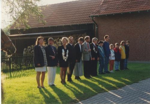 Maggi + Josef Averbeck - Klaudia +Günter Klostermann - Gilsela + Heinz Raubart - Boing - Kinderkönig Jan Lintel-Höping